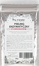 Düfte, Parfümerie und Kosmetik Enzym-Gesichtspeeling mit Granatapfelextrakt - E-Fiore Professional Enzyme Peeling Garnet&Vitamin C