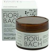 Düfte, Parfümerie und Kosmetik Feuchtigkeitsspendende Gesichtscreme - Phytorelax Laboratories Bach Flowers 24H Moisturizing Face Cream