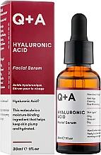 Gesichtsserum mit Hyaluronsäure - Q+A Hyaluronic Acid Facial Serum — Bild N2