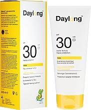 Düfte, Parfümerie und Kosmetik Feuchtigkeitsspendende Sonnenschutzlotion für empfindliche Babyhaut SPF 30 - Daylong Baby SPF 30