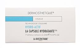 Düfte, Parfümerie und Kosmetik Intensiv feuchtigkeitsspendende glättende zellaktive Gesichtskapseln - La Biosthetique Dermosthetique Hydro-Actif La Capsule Hydratante