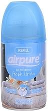 Düfte, Parfümerie und Kosmetik Raumerfrischer Frische Bettwäsche - Airpure Air-O-Matic Refill Fresh Linen