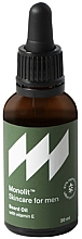 Düfte, Parfümerie und Kosmetik Bartöl mit Vitamin E - Monolit Skincare For Men Beard Oil With Vitamin E