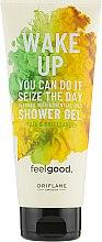 Erfrischendes Duschgel mit Yuzu und Minze - Oriflame Feel Good Wake Up Shower Gel — Bild N1