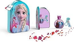 Düfte, Parfümerie und Kosmetik Disney Frozen II - Kinderset (Eau de Toilette 100ml + Lipgloss 6ml + Kosmetiktasche)