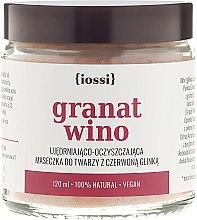 Düfte, Parfümerie und Kosmetik Gesichtsmaske mit Granatapfel und Wein - Iossi Face Mask