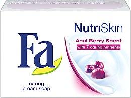"Düfte, Parfümerie und Kosmetik Seife ""Acai Berry"" - Fa NutriSkin Acai Berry Bar Soap"