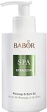 Düfte, Parfümerie und Kosmetik Energetisierendes Massage- und Badeöl - Babor Energizing Massage & Bath Oil