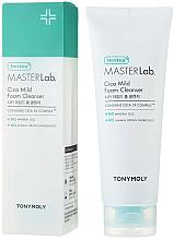 Düfte, Parfümerie und Kosmetik Gesichtsschaum für empfindliche und trockene Haut - Tony Moly Derma Master Lab Cica Mild Foam Cleanser