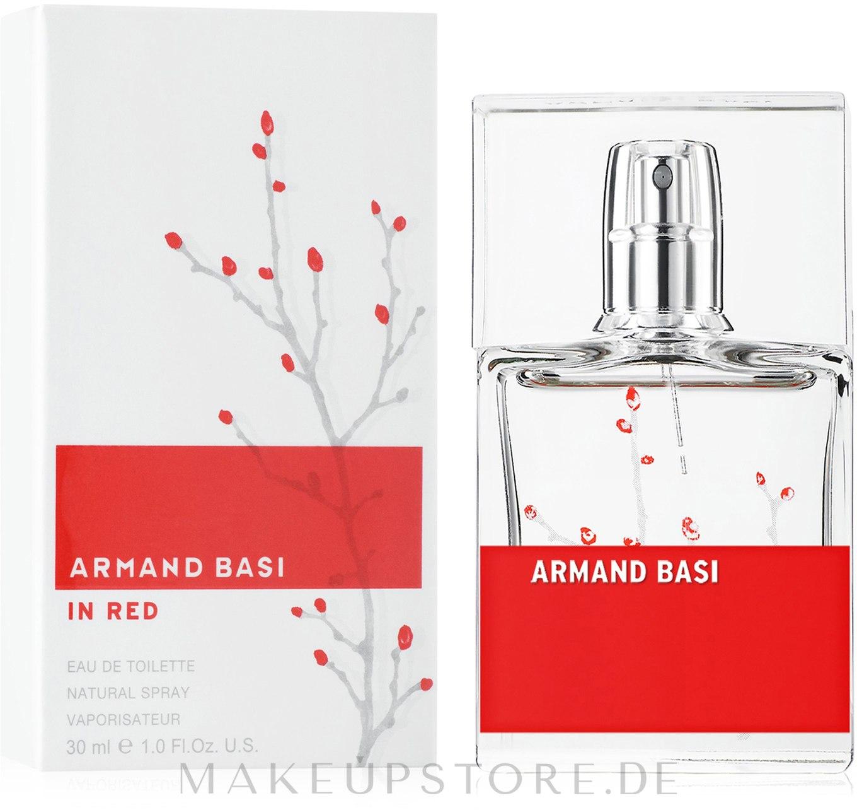 Armand Basi In Red - Eau de Toilette  — Bild 30 ml