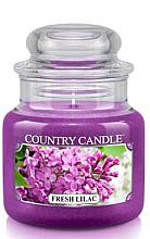 Düfte, Parfümerie und Kosmetik Duftkerze im Glas Fresh Lilac - Country Candle Fresh Lilac