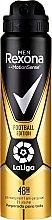 Düfte, Parfümerie und Kosmetik Deospray Antitranspirant - Rexona Men MotionSense La Liga Football Edition Antiperspirant