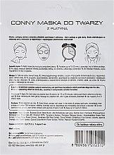 Feuchtigkeitsspendende und nährende Gesichtsmaske mit Platin - Conny Platinum Essence Mask — Bild N2