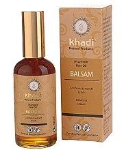 Düfte, Parfümerie und Kosmetik Reines Haaröl gegen Schuppen und Juckreiz - Khadi Ayurvedic Hair Oil Balsam