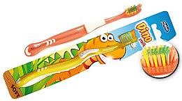 Düfte, Parfümerie und Kosmetik Kinderzahnbürste weich Rebi-Dental Dino M49 - Mattes