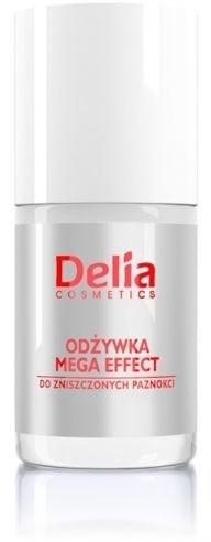 Nagelbalsam - Delia Cosmetics Mega Effect Nail Conditioner — Bild N1