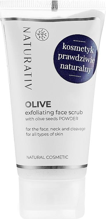 Gesichtspeeling mit Olivensamen - Naturativ Olive Exfolianting Face Scrub — Bild N1