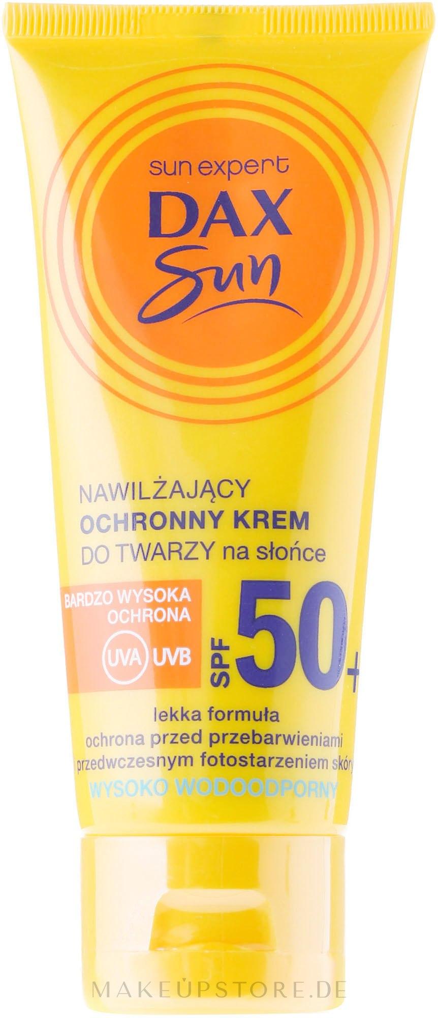 Sonnenschutzcreme mit Arganöl SPF 50 - DAX Sun Protective Face Cream SPF 50 — Bild 50 ml