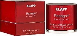 Düfte, Parfümerie und Kosmetik Anti-Aging Gesichtscreme - Klapp Repagen Exclusive Global Anti-Age Cream