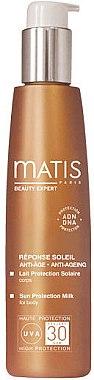 Körper Sonnenschutzmilch - Matis Paris Sun Protection Milk for Body SPF30 — Bild N1