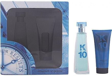 Concept V Design K10 - Duftset (Eau de Toilette/100ml + After Shave Balsam/100ml) — Bild N1