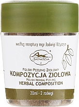 Düfte, Parfümerie und Kosmetik Gesichtspeeling - Jadwiga Herbal Composition Peeling