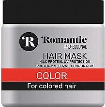 Düfte, Parfümerie und Kosmetik Haarmaske für coloriertes Haar - Romantic Professional Color Hair Mask