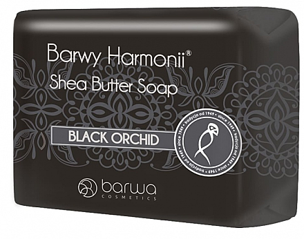 Sheabutter Seife mit Schwarzer Orchidee - Barwa Harmony Soap Black Orchid — Bild N1