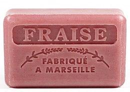 Düfte, Parfümerie und Kosmetik Handgemachte Naturseife Fraise - Foufour Savonnette Marseillaise Fraise