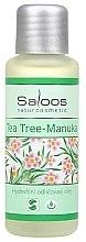 Düfte, Parfümerie und Kosmetik Hydrophiles Reinigungsöl aus Manuka und Teebaum für problematische und fettige Haut - Saloos Tea Tree-Manuka Oil