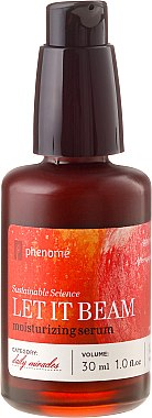 Gesichtsserum - Phenome Sustainable Science Let It Beam Moisturizing Serum — Bild N2