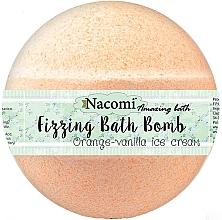 """Düfte, Parfümerie und Kosmetik Sprudelnde Badebombe """"Orange-Vanille mit Macadamialöl"""" - Nacomi Orange Vanilla Bath Bomb"""