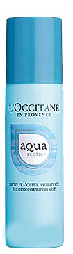 Intensiv feuchtigkeitsspendendes Gesichtsspray mit Quellenwasser und Hyaluronsäure - L'Occitane Aqua Reotier Fresh Moisturizing Mist — Bild N1