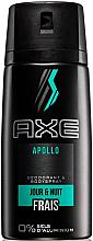 Düfte, Parfümerie und Kosmetik Deospray Apollo für Tag und Nacht - Axe Apollo Daily Fragrance Deodorant Body Spray