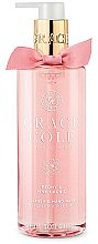 Düfte, Parfümerie und Kosmetik Handwasch Peony & Pink Orchid - Grace Cole Peony & Pink Orchid Liquid Hand Soap
