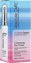 Düfte, Parfümerie und Kosmetik Konturierende Augencreme für alle Hauttypen mit Probiotika - Absolute Care Prebiotic Beauty Contouring Eye Cream