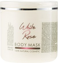 Düfte, Parfümerie und Kosmetik Gesichts- und Körpermaske Weiße Rose - Sezmar Collection Professional Body Mask White Rose
