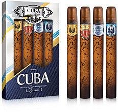 Düfte, Parfümerie und Kosmetik Cuba Gold - Duftset (Eau de Toilette 4 x 35ml )