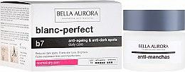 Düfte, Parfümerie und Kosmetik Gesichtscreme für den Tag gegen Pigmentflecken SPF 15 - Bella Aurora B7 Dry Skin Daily Anti-Ageing Anti-Dark Spot Care
