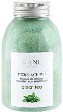 Düfte, Parfümerie und Kosmetik Entspannendes Badesalz mit grünem Tee - Kanu Nature Green Tea Fizzing Bath Salt