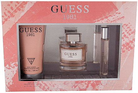 Guess 1981 - Duftset (Eau de Toilette 100ml + Körperlotion 200ml + Eau de Toilette 15ml) — Bild N1