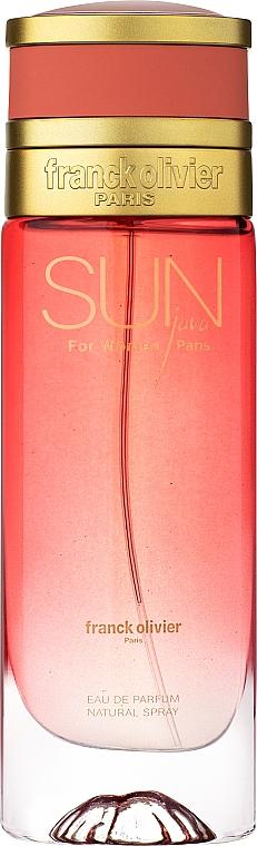 Franck Olivier Sun Java for Women - Eau de Parfum — Bild N1