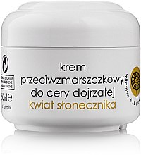 Anti-Falten Gesichtscreme mit Sonnenblume - Ziaja Anti-Wrinkle Cream Flower Sunflower Mature Skin — Bild N1