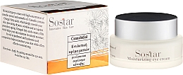 Düfte, Parfümerie und Kosmetik Feuchtigkeitsspendende Augencreme mit Hanfextrakt und Hanföl - Sostar Cannabisoil Moisturizing Eye Cream of Cannabis Extract