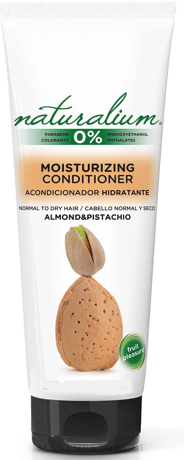 Pflegende Haarspülung für normales und trockenes Haar mit Mandel und Pistazie - Naturalium Conditioner Almond and Pistachio — Bild 250 ml