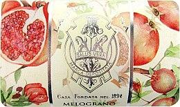 Düfte, Parfümerie und Kosmetik Granatapfel Seife - La Florentina Pomegranate Bath Soap