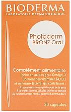 Düfte, Parfümerie und Kosmetik Nahrungsergänzungsmittel Bronz Oral für perfekte Sonnenbräune - Bioderma Photoderm Bronz Oral Capsule