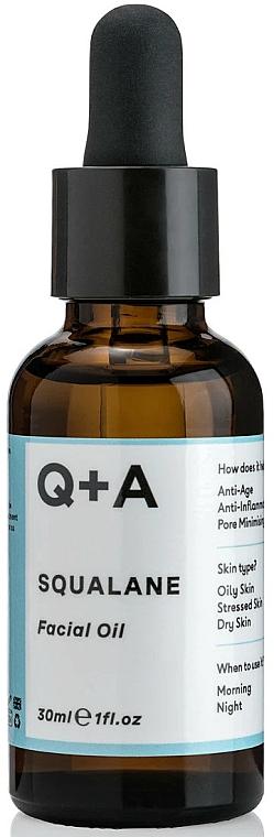 Gesichtsöl Squalan - Q+A Squalane Facial Oil — Bild N1