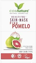 Düfte, Parfümerie und Kosmetik Revitalisierende Gesichtsmaske mit Pampelmuse - Cosnature Beautiful Skin Mask Pink Pomelo