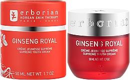 Anti-Aging Gesichtspflege mit Ginsengextrakt - Erborian Ginseng Royal Cream — Bild N2